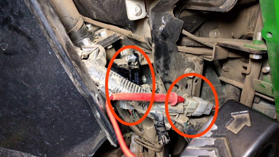 2305 Engine Quits Running While Mowing